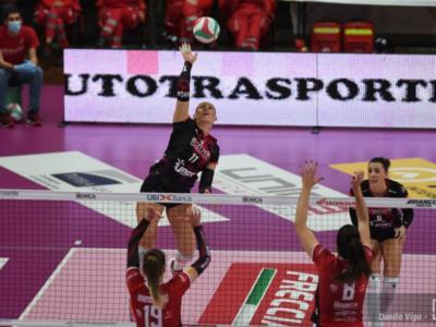 Volley femminile, le migliori italiane di Serie A1 del fine settimana: Mingardi trascinatrice, Perinelli straripante