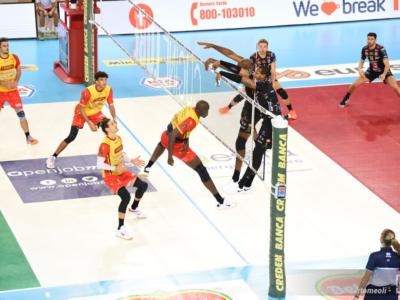 Volley, SuperLega: Vibo Valentia espugna Trento nel recupero, dolomitici senza palleggiatori