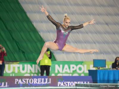 Ginnastica, Semifinali Serie A1 2020 – Tutti i podi individuali di giornata a Napoli. Le migliori sono state… Fate sugli scudi