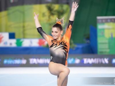 Ginnastica artistica, Lara Mori tutto cuore: la tigre torna e trascina il Giglio in Finale. Domani non gareggerà