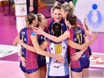 LIVE Scandicci-Schwerin 19-25 25-19 25-20 25-21, Champions League volley in DIRETTA: le toscane volano in vetta al Gruppo A