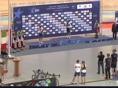 Ciclismo su pista, Europei 2020: Balsamo conquista l'oro nell'Omnium. Alzini e Valsecchi argento e bronzo nell'Inseguimento femminile