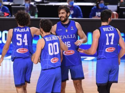 """Qualificazioni Europei Basket 2022, Amedeo Tessitori: """"Ringrazio i compagni per avermi cercato dopo un inizio difficile"""""""