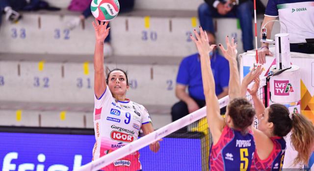 LIVE Novara-Dinamo Kazan 3-0, Champions League volley femminile DIRETTA. Le piemontesi demoliscono le russe!