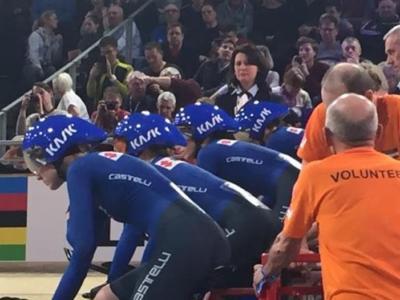 Ciclismo su Pista, Europei 2020: l'Italia supera l'Ucraina e si qualifica per la finale dell'inseguimento femminile