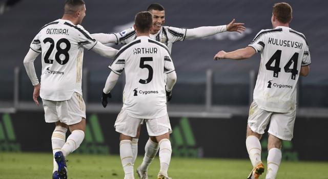 Calcio, Serie A 2020-2021: Juventus-Cagliari 2-0, una doppietta di Cristiano Ronaldo decide la sfida dell'Allianz Stadium