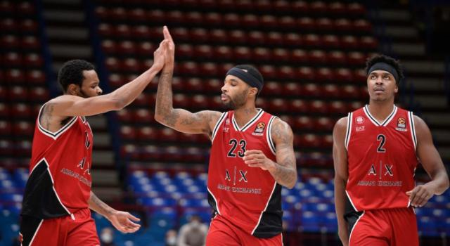 Basket, 16ma giornata Serie A 2020-2021: Milano inizia il girone di ritorno contro Reggio Emilia, Venezia sfida Brindisi nel big match