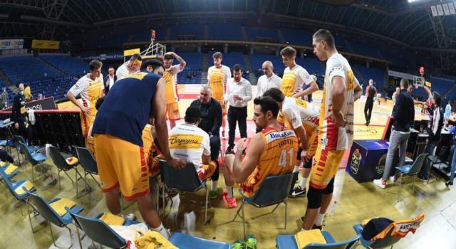 Basket: a Pesaro c'è un positivo asintomatico al Covid-19. Soggetto isolato, non a rischio il match con Varese