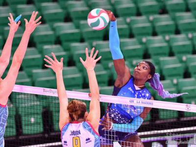 Volley femminile, le migliori italiane della 9. giornata di A1. Danesi e Fahr: convincente il muro azzurro