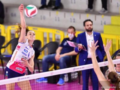 Volley femminile, Serie A1: domani i recuperi Perugia-Novara e Chieri-Bergamo