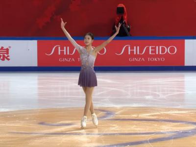Pattinaggio artistico, Hongyi Chen passeggia nello short femminile alla Cup Of China 2020. Secondo posto per Li