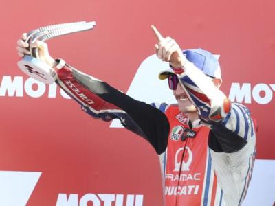 """MotoGP, Jack Miller: """"Oggi Oliveira era di un altro pianeta! Felice del secondo posto, che battaglia con Morbidelli"""""""