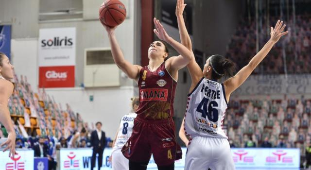 Basket femminile, Serie A1 2020-2021: vittorie extralarge per Venezia e Virtus Bologna, Del Pero trascina Costa Masnaga