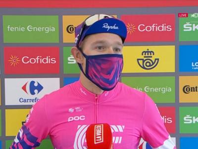 """Vuelta a España 2020, Magnus Cort Nielsen: """"Bello tornare a vincere dopo aver avuto il Covid"""""""