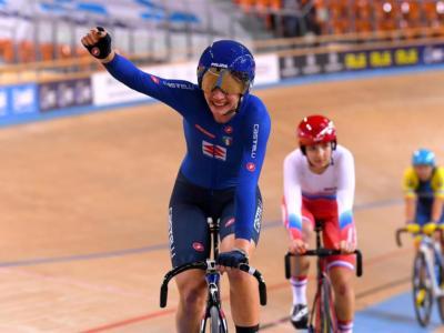 """Ciclismo su pista, Martina Fidanza vince agli Europei: """"Non sono riuscita a esultate, ho versato troppe lacrime di gioia"""""""