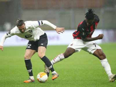 Pagelle Milan-Lilla 0-3, voti Europa League 2020-2021. Donnarumma e Romagnoli: che pasticci! Ibra non incide
