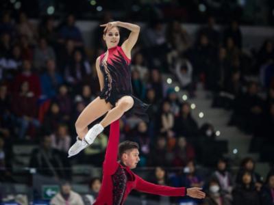 Pattinaggio artistico: Mishina-Galliamov trionfano nelle coppie alla quarta tappa della Coppa Di Russia 2020. Secondi Tarasova-Morozov