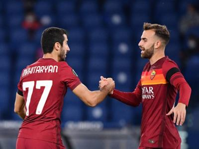 VIDEO Roma-Cluj 5-0: highlights, gol e sintesi. Dilagano i giallorossi