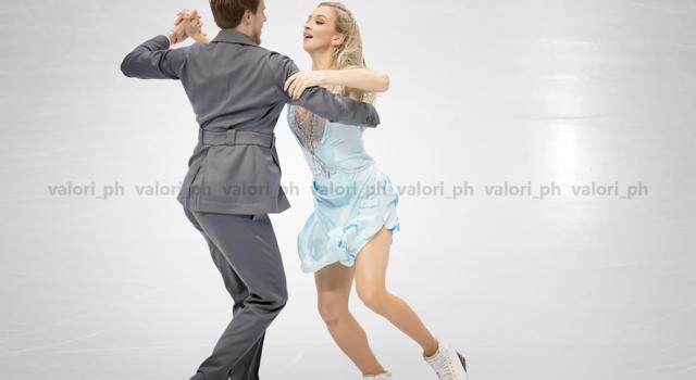 Pattinaggio di figura: Sinitsina-Katsalapov dominano la rhythm dance ai Mondiali 2021, sesti Guignard-Fabbri