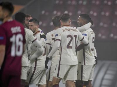 VIDEO Cluj-Roma 0-2, Highlights, gol e sintesi: i giallorossi trionfano in Romania e sono primi nel girone A