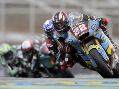 LIVE Moto2, GP Valencia 2020 in DIRETTA: Fabio Di Giannantonio guida il gruppo davanti ad Enea Bastianini ed a Sam Lowes