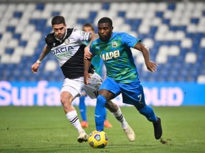 Calcio, Sassuolo-Udinese 0-0 Serie A 2020-2021: match da sbadigli a Reggio Emilia e pareggio giusto