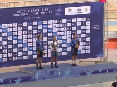 Ciclismo su pista, Europei 2020: l'Italia splende nell'Inseguimento individuale donne! Alzini d'argento, bronzo per la Valsecchi