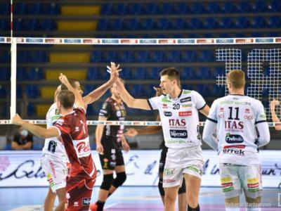 Volley, Champions League 2020/2021. Trento in casa da favorita nel primo round robin