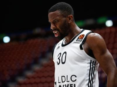 Basket, l'ASVEL domina il quarto periodo e stende l'Olimpia Milano
