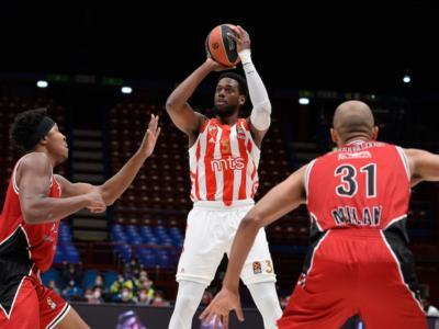 Basket, Eurolega: l'Olimpia Milano cade tra le mura amiche. Al Forum brilla solo la Stella Rossa