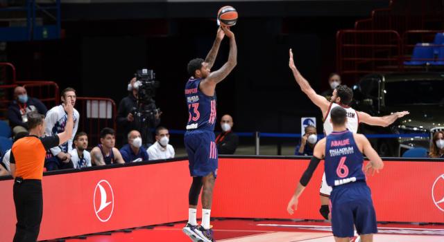 Basket, Euroleague 2020-2021: Vittorie di misura per Real Madrid, Efes Istanbul, Monaco e San Pietroburgo