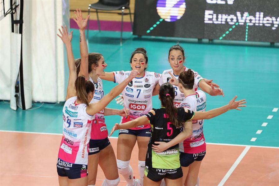 Volley femminile, Serie A1: Novara supera agevolmente Perugia. Bosetti scatenata