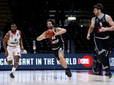 Basket, EuroCup 2020-2021: Virtus Bologna sul campo del Monaco, ultima chiamata per Brescia