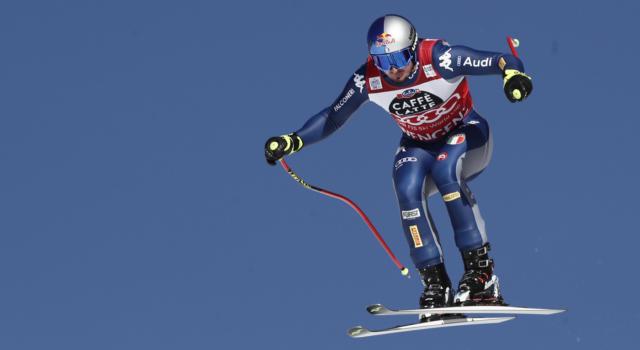 Sci alpino, cancellata la prima prova cronometrata della discesa libera maschile