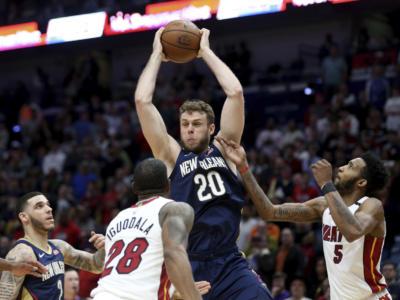 """Basket, Nicolò Melli: """"Ripartenza, è tutto strano e non tutto è uguale. Pelicans, abbiamo grande voglia di giocare"""""""