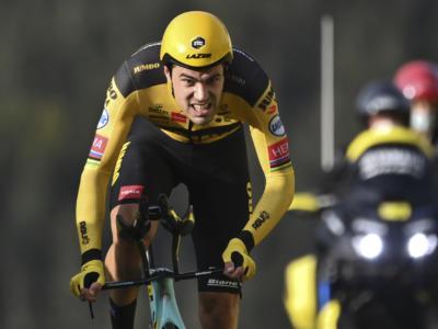 """Ciclismo, Tom Dumoulin: """"Ho avuto problemi al sovrassella. Pogacar? Guida la bicicletta come un minatore"""""""