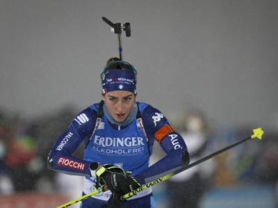 Biathlon, campioni d'Italia nella staffetta mista Eleonora Fauner, Lisa Vittozzi, Patrick Braunhofer e Lukas Hofer