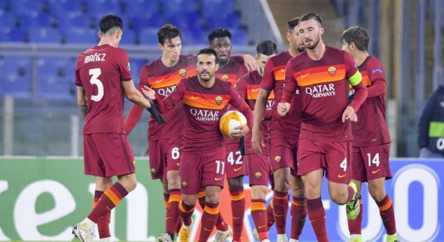 LIVE Roma-Shakhtar Donetsk 3-0, Europa League in DIRETTA: i giallorossi calano il tris con Pellegrini, El Shaarawy e Mancini. Qualificazione ipotecata. Pagelle e highlights