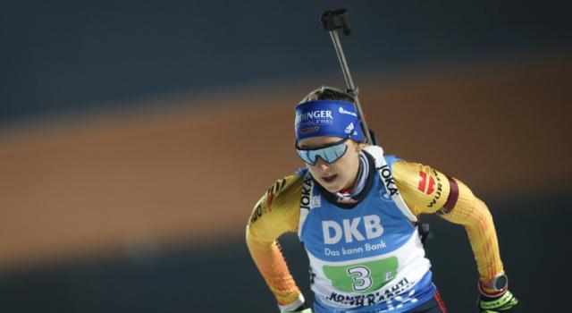 Biathlon, la Germania torna a vincere nella staffetta femminile di Oberhof. Stupisce la Bielorussia, male le azzurre