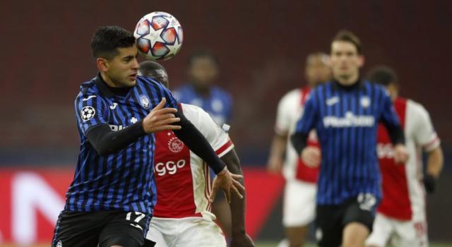 L'Atalanta vola agli ottavi di Champions League: la Dea batte l'Ajax ed è tra le 16 grandi d'Europa