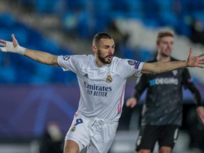 LIVE Real Madrid-Borussia Moenchengladbach 2-0 in DIRETTA: Benzema lancia il Real, agli ottavi anche il Gladbach