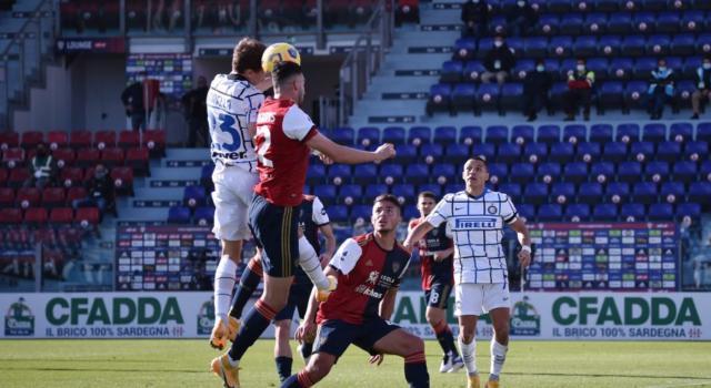 VIDEO Cagliari-Inter 1-3, Highlights, gol e sintesi: Barella e D'Ambrosio ribaltano il risultato
