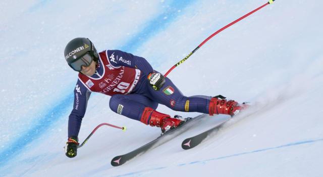 """Sci alpino, Sofia Goggia: """"Oggi meglio tecnicamente, in squadra stiamo alzando l'asticella"""""""