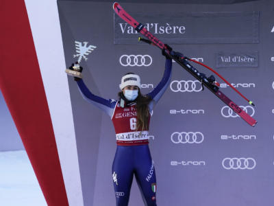 Sci alpino, Sofia Goggia sogna il bis in superG. Alex Vinatzer cerca il riscatto ad Adelboden