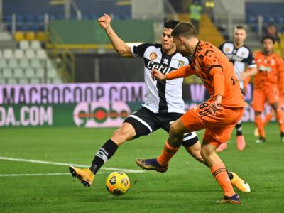 VIDEO Parma-Juventus 0-4, Highlights, gol e sintesi: doppietta di Cristiano Ronaldo e rete di Kulusevski
