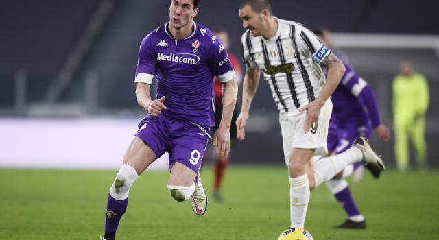 VIDEO Juventus-Fiorentina 0-3, Highlights, gol e sintesi: Vlahovic e Caceres stendono i bianconeri! Prima sconfitta per CR7 e compagni