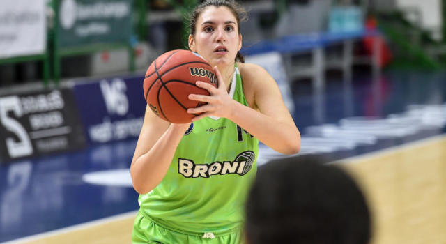 Basket femminile, Playout Serie A 2021: Broni asfalta Battipaglia in gara-1