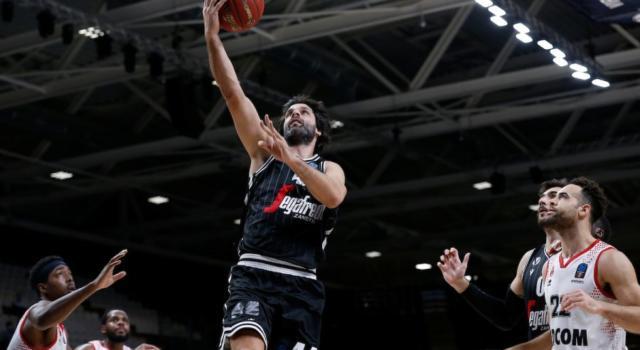 Basket, Eurocup 2021: la Virtus Bologna vince gara-1 della semifinale con Kazan. Milos Teodosic superstar