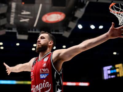 Basket, Serie A 2020-2021: Virtus Bologna-Olimpia Milano big match della 13a giornata. Brindisi a Cremona, Sassari riceve Brescia