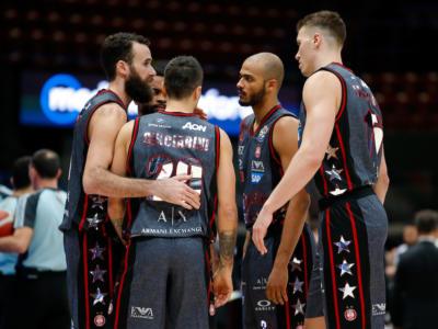 LIVE Olimpia Milano-Dinamo Sassari 102-86, Serie A basket in DIRETTA: i meneghini vincono grazie a un ultimo quarto superlativo